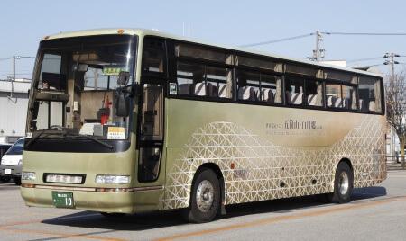 世界遺産バス外観