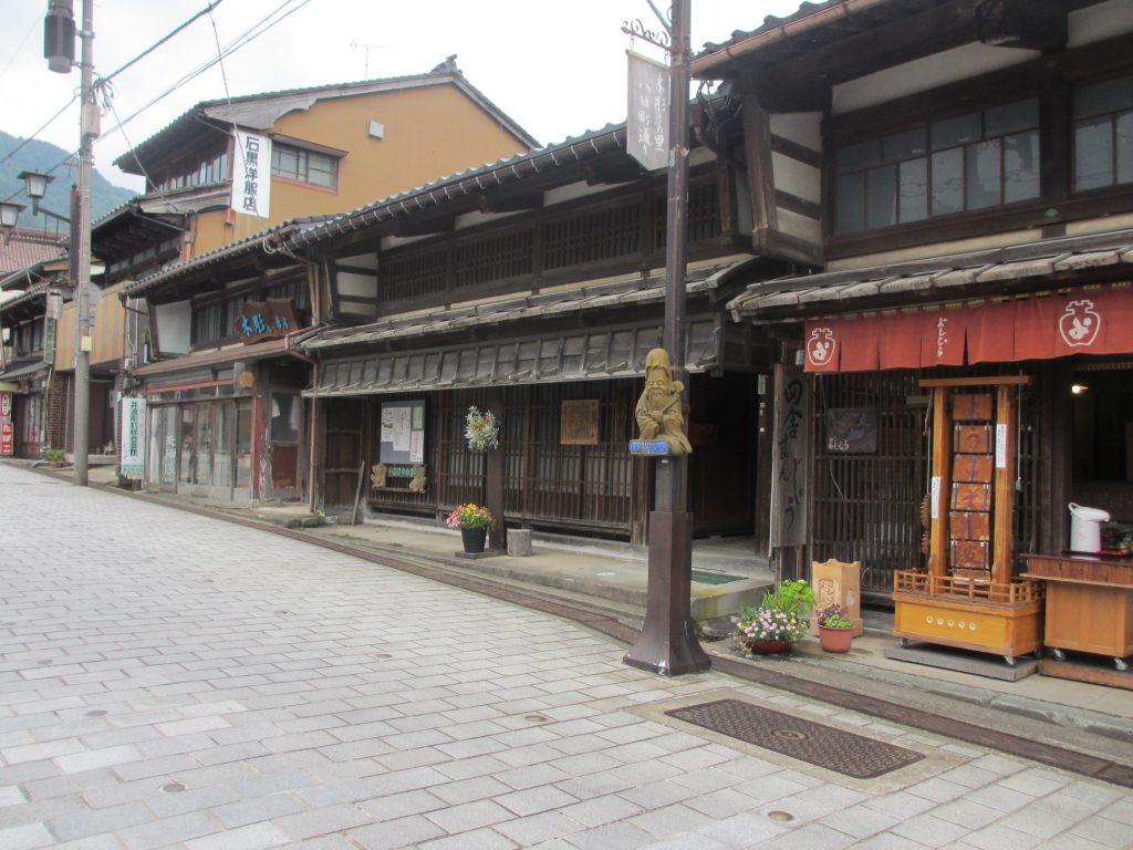 斎賀邸と木彫り
