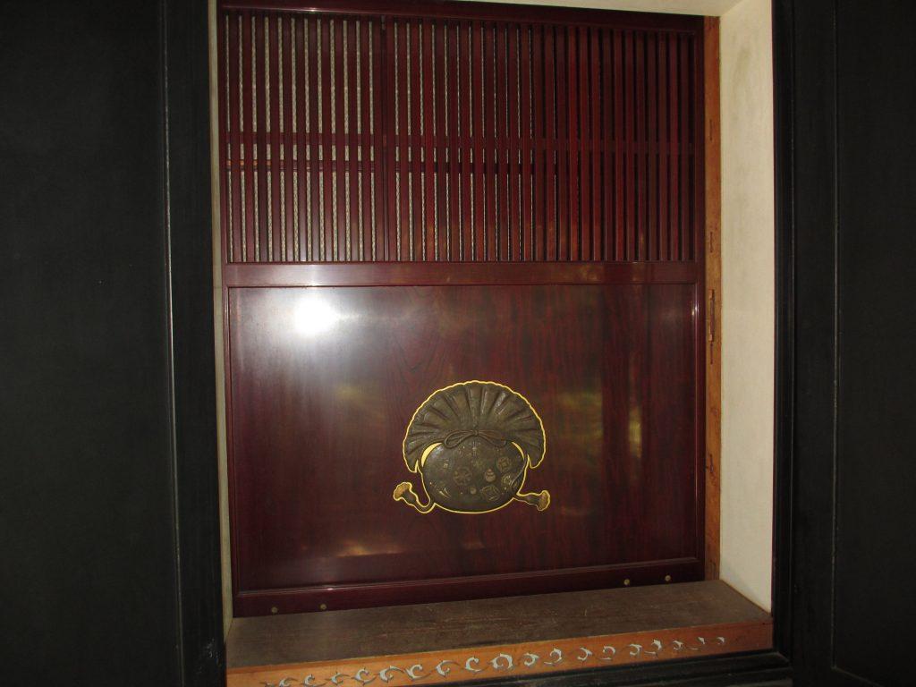 斎賀邸の蔵の錠前