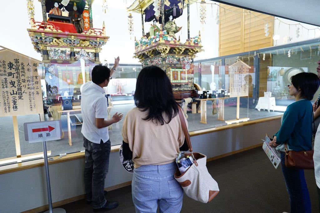 越中八尾観光会館の案内イメージ