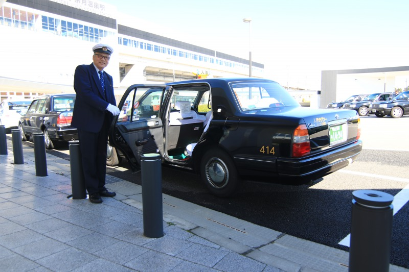 観光タクシーイメージ